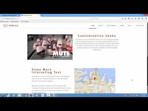 Wordpress BE THEME Muffin Builder Layouts