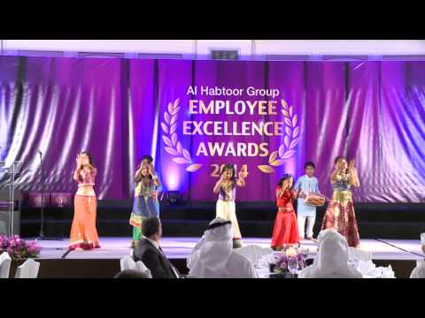 Traditional Indian Dance by students from EIS-Meadows at the Al Habtoor Group EEA 2014