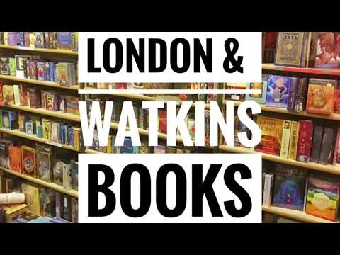 A day in London and a quick trip to Watkins Books!