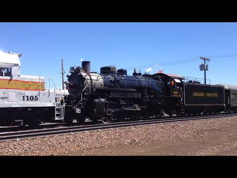 CLASSIC LASH UP / STEAM AND DIESEL / GRAND CANYON RR