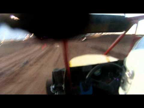 White Sands Speedway May 21 2011 Cody Dons in-car video