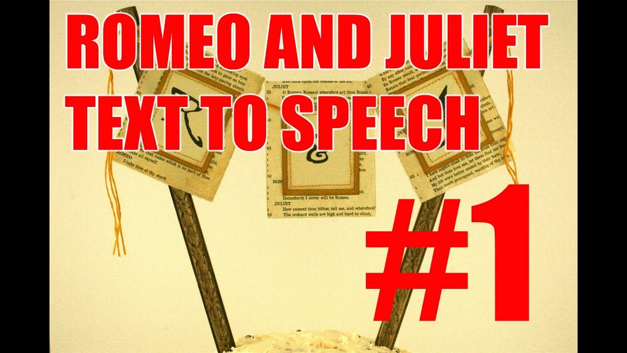 romeo and juliet modern speech Get a full list of romeo and juliet soliloquies, with links to modern english translations, detailed analysis, and more  or her speech to no one in particular .