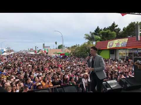 Jonatan Sanchez Transparente Cinco de Mayo Festival Richmond, CA
