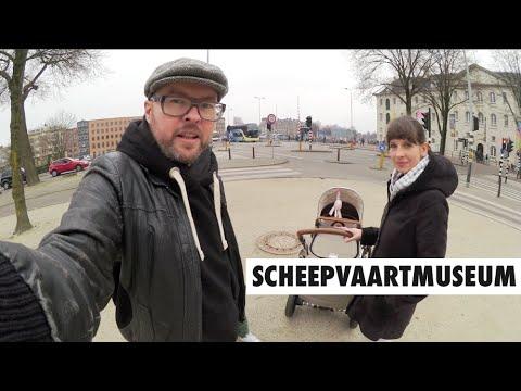 DAY AT SCHEEPVAARTMUSEUM AMSTERDAM