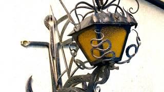 6 Кованые светильники настенные кованые фонари уличные(смотреть http://kovka-dveri.com/ Кованые светильники настенные кованые фонари уличные . Кованые светильники..., 2016-12-22T14:22:49.000Z)