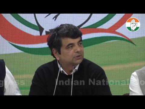 LIVE: AICC Press briefing by RPN Singh at Congress HQ