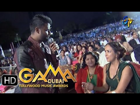 Why This Kolaveri Di Song - Hemachandra Performance in ETV GAMA Music Awards 2015 - 13th March 2016