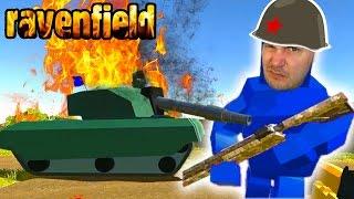 ВОЙНА КВАДРАТОВ #2 видео для детей про сражение мульт героев на огромных локациях в игре Ravenfield