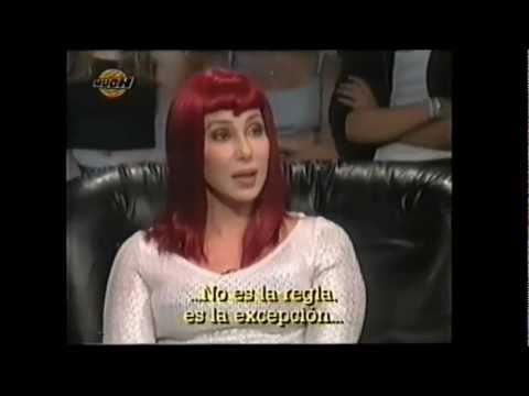 Cher on Tina Turner (live MuchMusic Studio, Toronto, 1998)