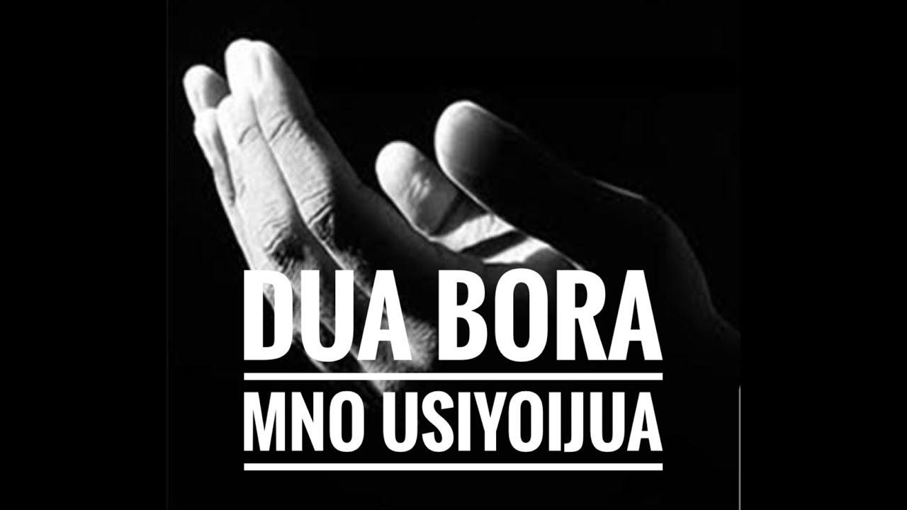 Download DUA YENYE MANENO MANNE TU YENYE THAMANI KULIKO DUA NA ADHKARI ZA MASAA MAWILI
