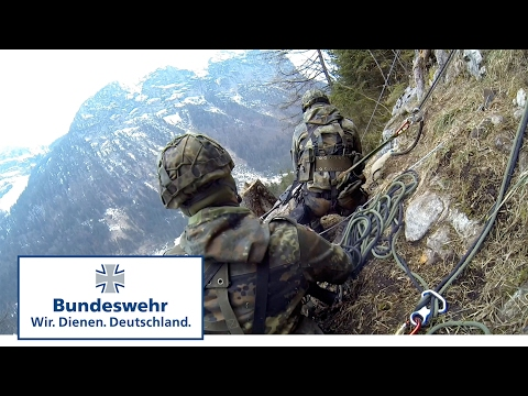 Bundeswehr Mountain Units Attack