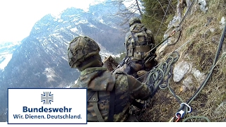 Bundeswehr Mountain Units Attack