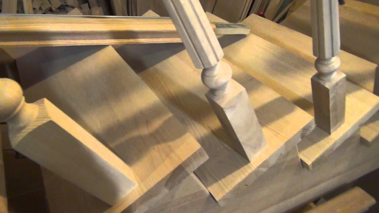Лестницы с площадкой - YouTube