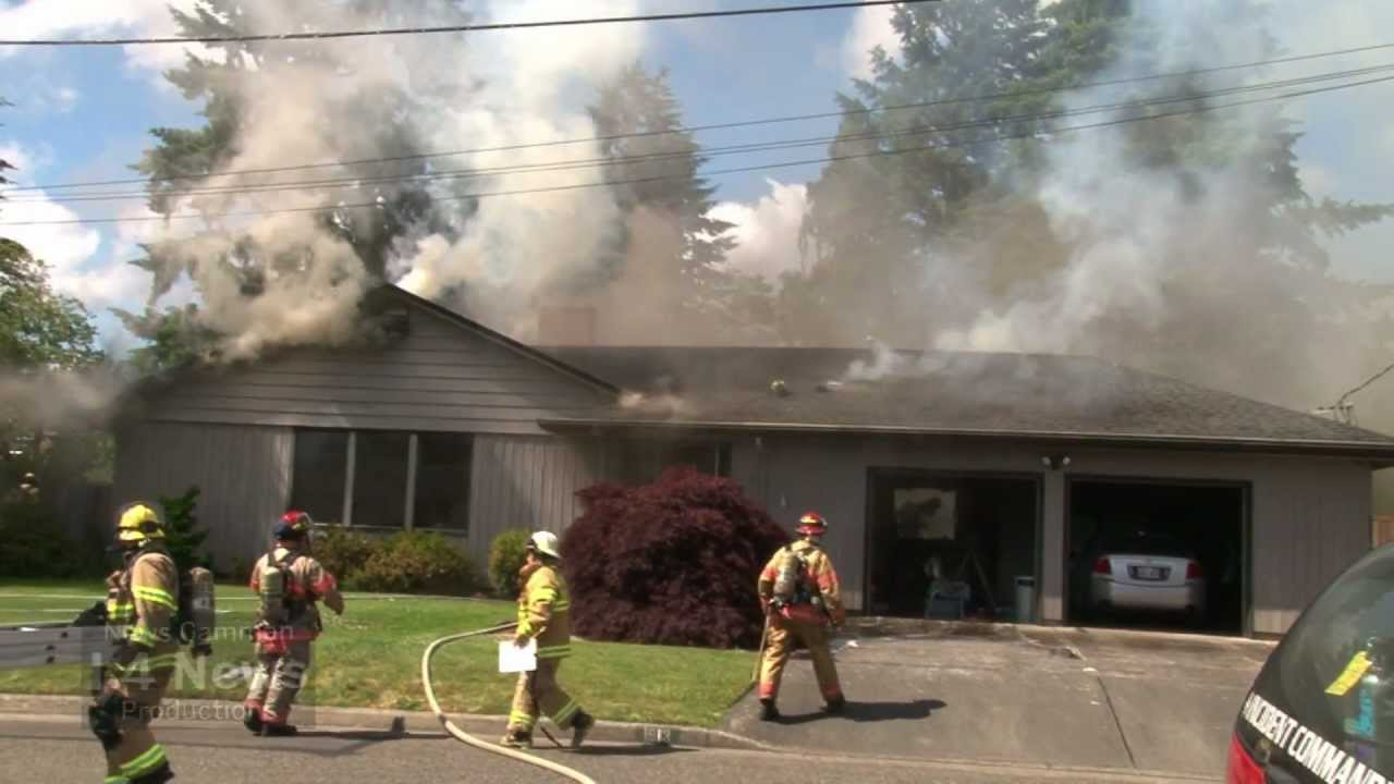 Working House Fire Tacoma Road Amp 3rd Ave Nw Puyallup Wa