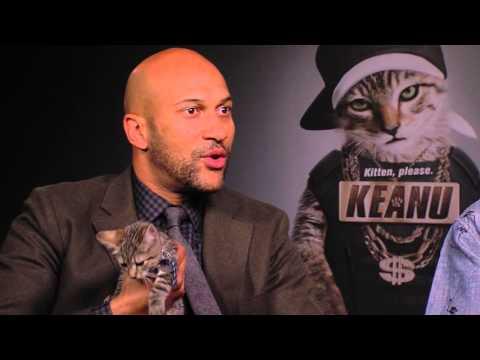 Key & Peele + Keanu Co- Stars - Rap About a Cat