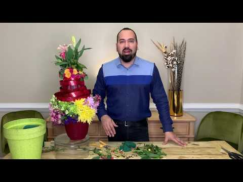 How To Reuse Flowers Of Publix & Dollar Tree
