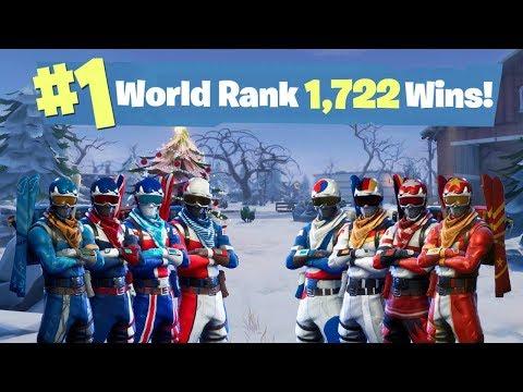 #1 World Ranked - 1,722 Solo Wins - Sponsor Goal 723/800