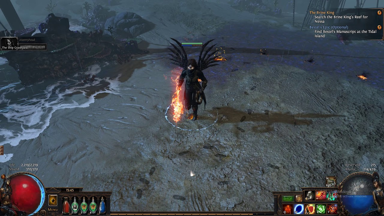 Poe Witch Seeker Armour Set Youtube