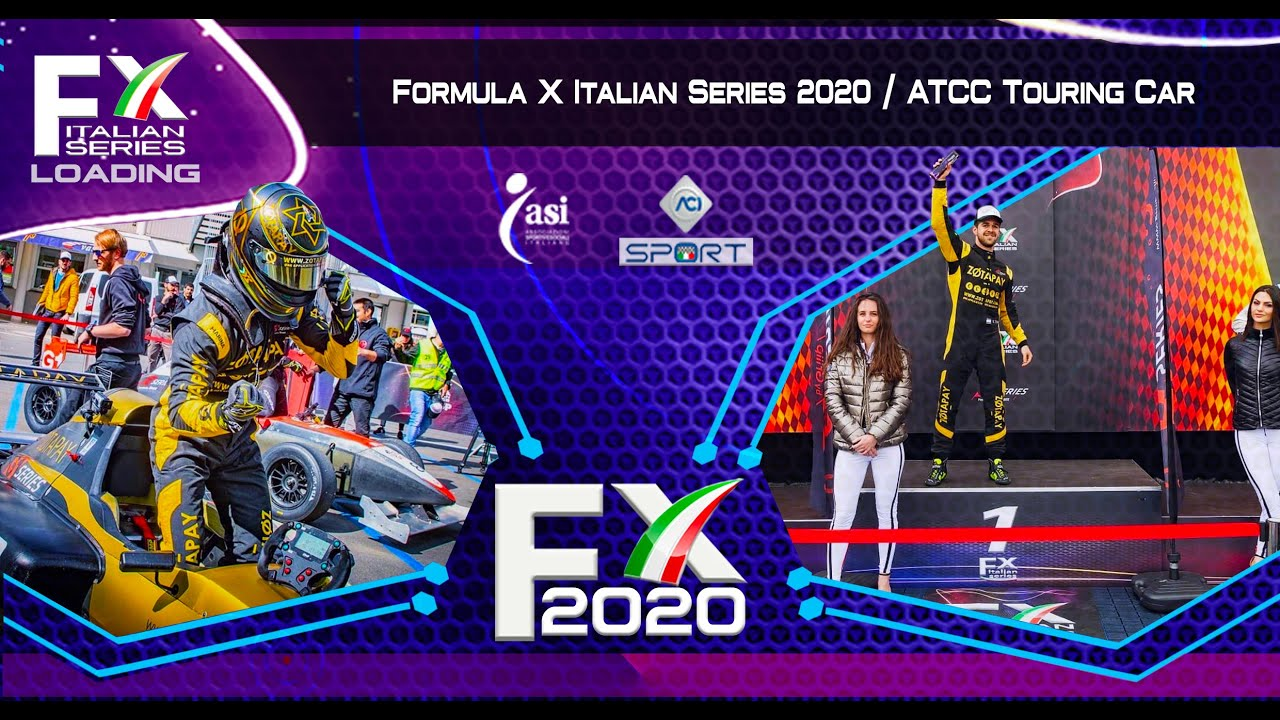 Formula X Italian Series 2021 Calendario FX | Coppa Italia   YouTube