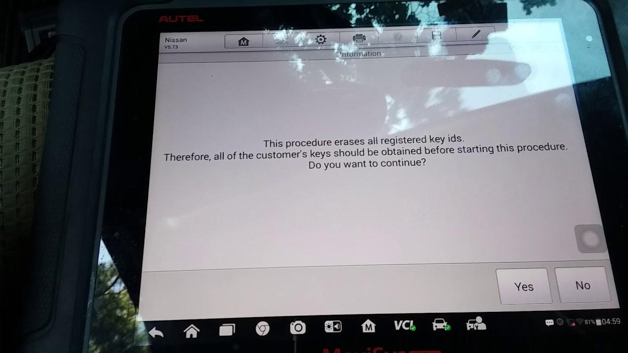 Reprogram ECM Nissan TITAN 2015