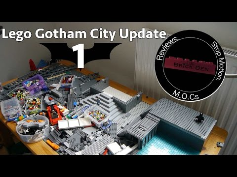 Lego Gotham City Update 1