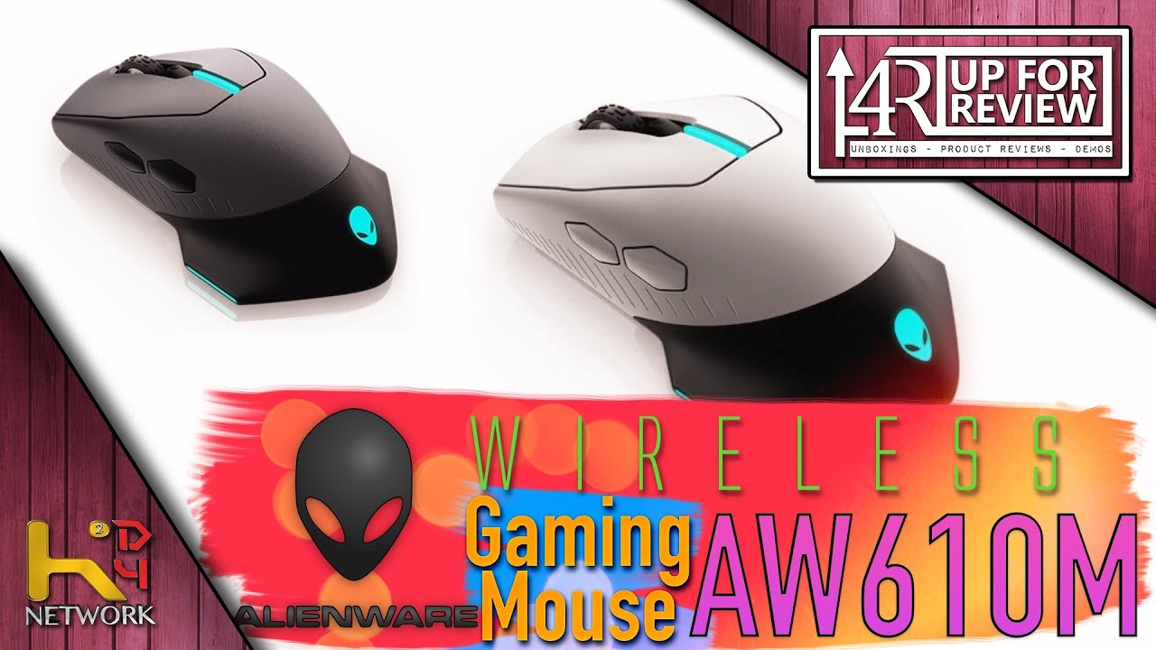 Alienware - Wireless Mouse - AW610M