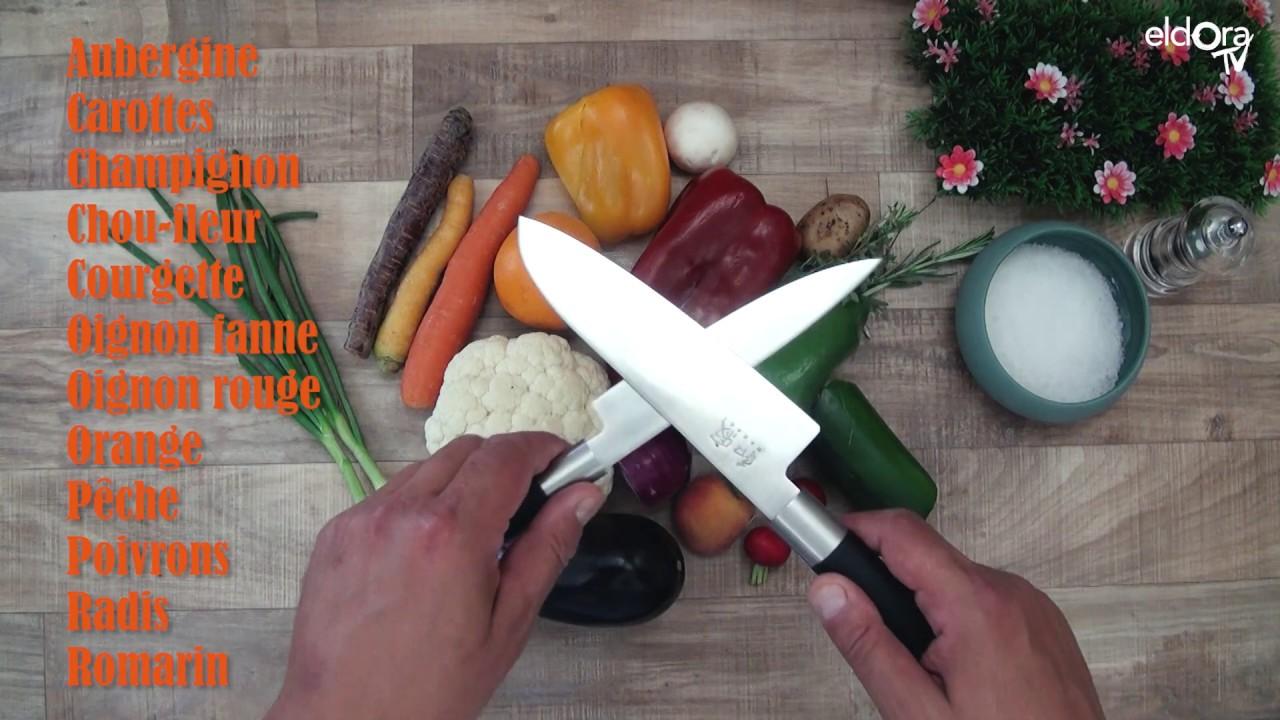 Mix de légumes à la plancha