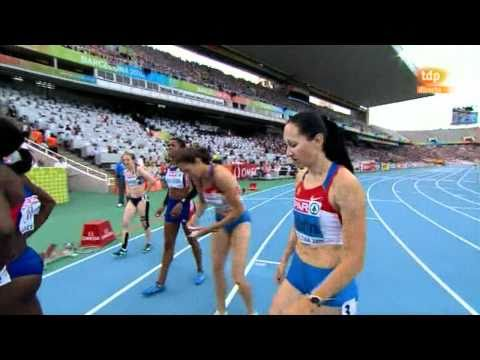 European Championship Barcelona 2010. 200m women semifinal 1