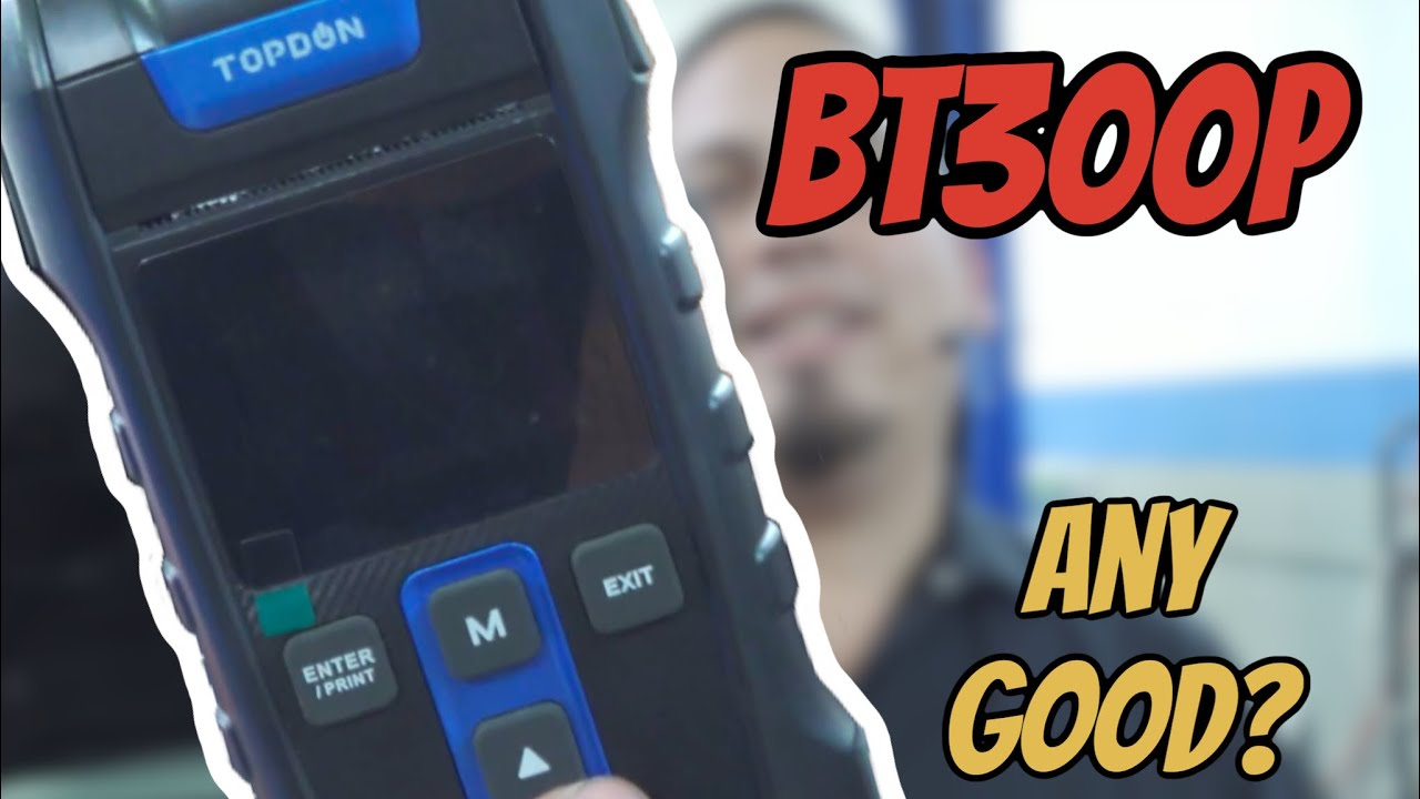The Topdon BT300P Reviewed | Comparing results to the PicoScope battery test