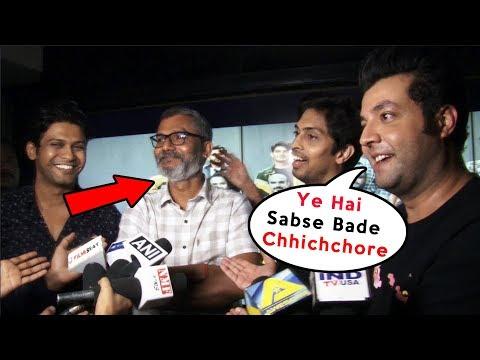 Chhichhore Star Cast Interview | Nitesh Tiwari, Varun Sharma Mp3