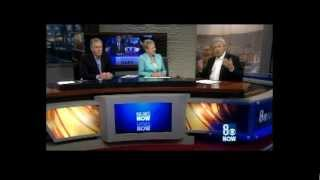 8/3/2012 KLAS-TV Channel 8 Las Vegas:  Is it Gary Knapp & George Waddell?