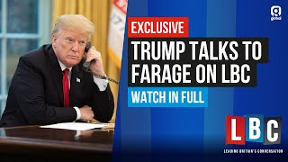 WORLD EXCLUSIVE: Farage Interviews President Donald Trump - Watch In Full