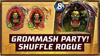 Grommash Party! | Shuffle Rogue | The Boomsday Project | Hearthstone