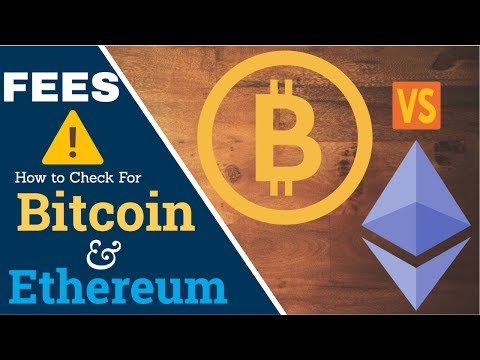 How To Check Bitcoin \u0026 Ethereum Transaction Fees [SUPER EASY]
