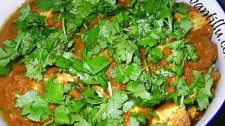 Indian Recipes - Paneer Makhanwala - Andhra Telugu Vegetarian Food