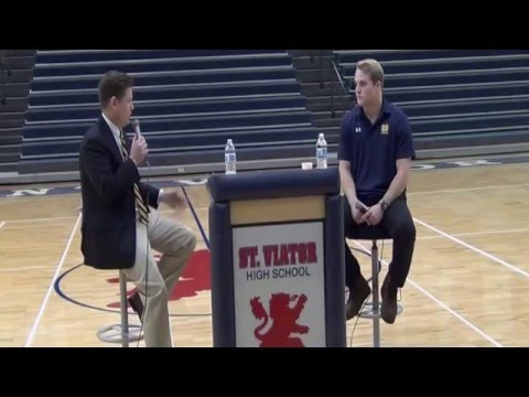 Joe Schmidt at Saint Viator High School