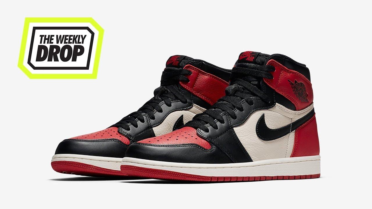 Air Jordan 1  Bred Toe  Australian Sneaker Release Info  The Weekly Drop e476eda18
