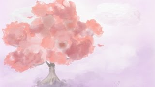 How to Draw a Tree in Adobe Photoshop Sketch using Watercolor Paintbrush