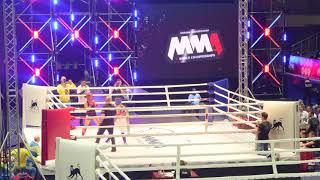 female 61,2 kg: Liliya Kazak (Belarus) vs. Tatiana Soliar (Ukraine). 2017 World MMA Championships