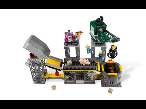 Download Lego Toy Story 3-Trash Compactor Escape 7596 Build/Review with Little Evie