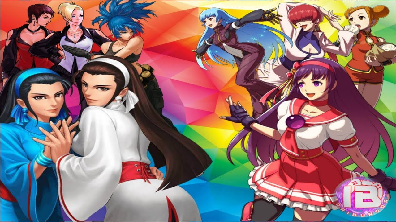 the king of fighters 2002 personajes mujeres