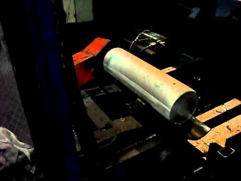 FOR SALE Aluminium Extrusion Press at Steelmet SA Bulgaria Video 2