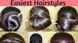 Easy HAIRSTYLES for long hair | Bunstick /hairstick hairstyles