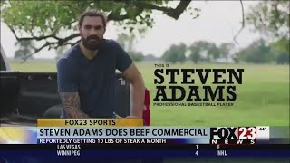 Steven Adams commercial: