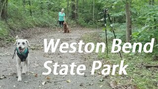 Hiking in Weston Bend State Park! - (West Ridge Trail)