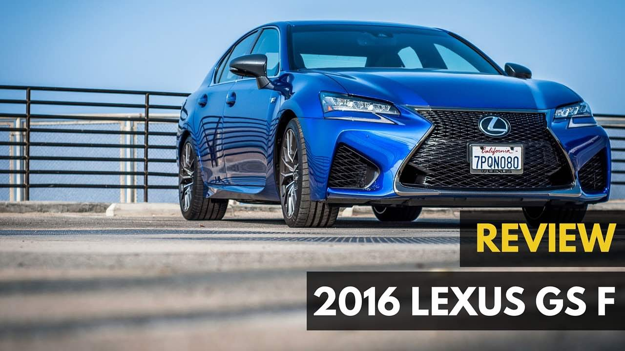 Lexus Gs F Review Bmw M5 Murdererer 2016 Gadget
