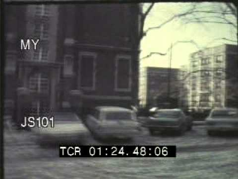 Stock Footage - West Philadelphia - 1969