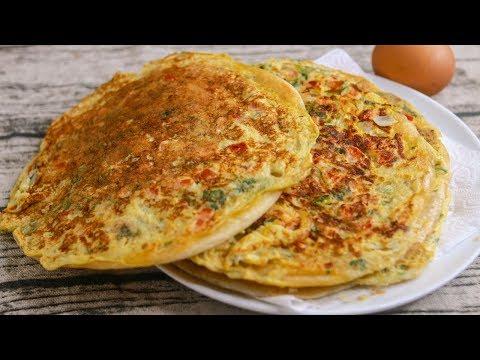 Egg Paratha Recipe | Crispy Egg Paratha Recipe | Homemade Restaurant Style Flaky Layered Egg Paratha