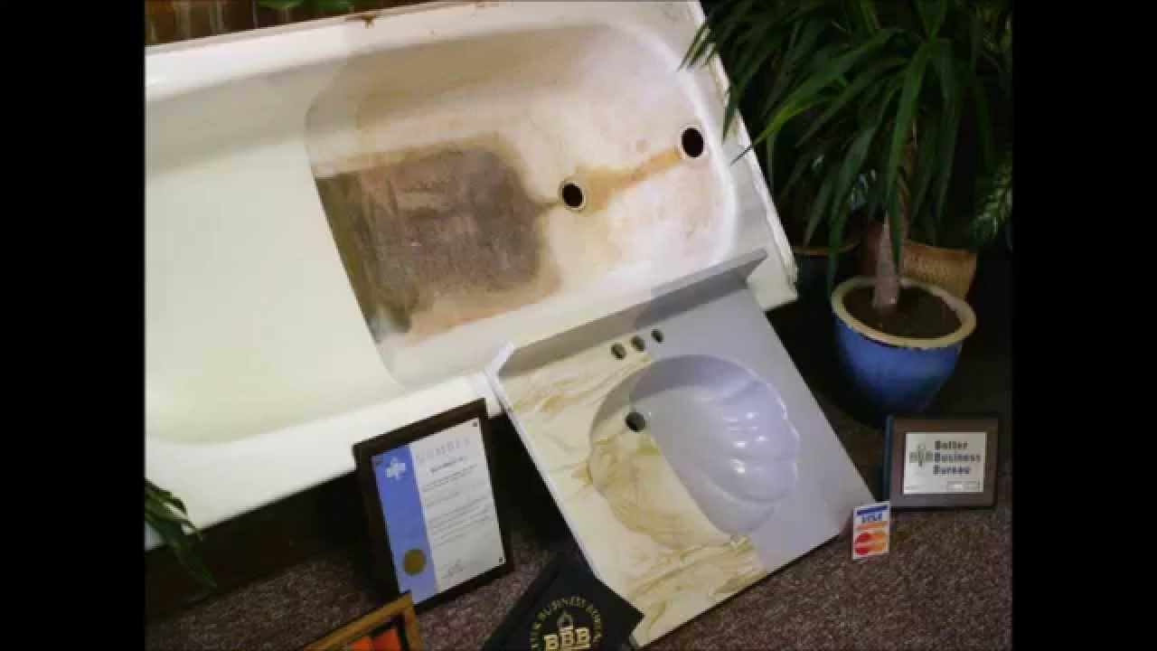 Detroit Bathtub Reglazing By Bath Magic Youtube