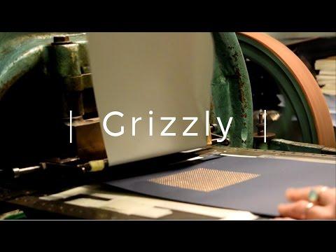 Production des carnets de chez Grizzly